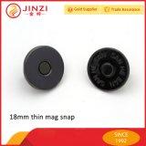 металла кнопки 18mm кнопка тонкого магнитного большого магнитная щелчковая для кожаный сумок