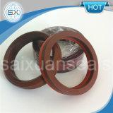 V selo de embalagem da máquina de embalagem V da fibra do anel PTFE/Viton/NBR da forma