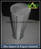 Setaccio del filtrante della rete metallica dell'acciaio inossidabile del tessuto normale