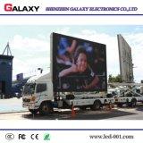 Déménager annonçant le camion de panneau-réclame du mur visuel/de écran/du panneau/de étalage de P5/P6/P8/P10 DEL pour fixe installent annoncer la location