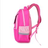 Os meninos Bookbags das meninas dos sacos de escola caçoam o azul cor-de-rosa impermeável dos homens das trouxas