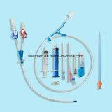 의학 처분할 수 있는 CVC 중앙 정맥 카테테르