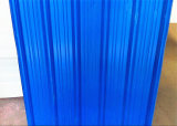 لون وشفّافة يستعمل سقف بلاستيك يغضّن صفح سعر