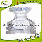 butoir de la fuite 3D sans les couches-culottes adultes à usage unique de coton mou latéral de fuite