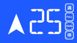 """7개의 """" CPI 및 Hpi Stn 엘리베이터 LCD 디스플레이"""