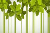 رخيصة سعرات عمليّة بيع اللون الأخضر ورقة أسلوب تصميم لأنّ بيتيّة زخرفة صورة زيتيّة