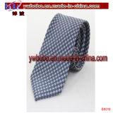 Связь полиэфира галстука шелка 100% ставит точки флористический сплетенный галстук (B8013)