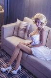 Geschlechts-wünschte erwachsener fester Silikon-Puppe-Agens Geschlechts-Spielzeug-Silikon-Liebes-Puppen
