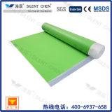 3mm grüne EVA Schaumgummi-Unterlage für lamellenförmig angeordneten Bodenbelag