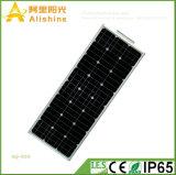 새로운 50W 지능적인 시간 제어 기능을%s 가진 1개의 에너지 절약 램프 태양 가로등에서 보장 3 년 전부