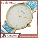 Het eenvoudige Aangepaste Horloge van het Kwarts van de Dames van de Sport van het Embleem Waterdichte