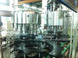 Máquina de relleno del agua de la bebida del animal doméstico y que capsula que se lava
