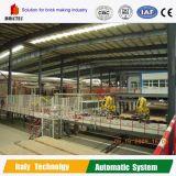 Máquina automática de configuração robótica da linha de produção de tijolos