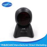 Escáner Automático Scanner Omnidireccional de Código de Barras Multi Líneas Laser USB RS232 Interface para Sistema POS