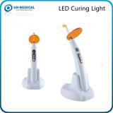 Luz de cura LED Dental sem fio com 4 cores