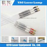 Lâmpada de xénon excelente do laser da qualidade para o ND: Soldadura de YAG/estaca/máquina de gravura