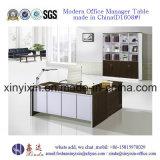 Meubles de bureau modernes de mélamine de Tableau de bureau de gestionnaire de L-Forme (M2601#)