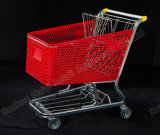 Plastiksupermarkt-bequemer Einzelhandelsgeschäft-Einkaufswagen
