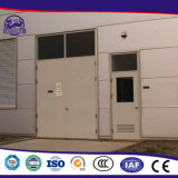 Die Stahltür, die Maschinen herstellt, machen Tür feuerfest