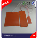 Almofada de aquecimento da borracha de silicone para base Heated do calefator da impressora 3D