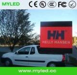 Afficheur LED de la publicité extérieure de HD pour l'installation fixe extérieure