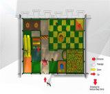 Campo de jogos interno temático da selva do divertimento do elogio para a venda
