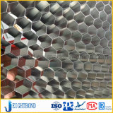 20mmの室内装飾のための銀製アルミニウム蜜蜂の巣のパネル