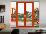 / Perfil de aluminio Ventana de aluminio de seguridad de la puerta de entrada / puerta exterior
