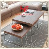 Mesa de chá (RS161001) Mesinha de mesa Mesa de mesa moderna Mobília de aço inoxidável Mobília de casa Mobiliário de hotel Mesa de canto de mesa de console