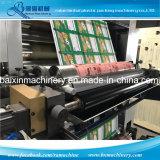 Machine d'impression de Flexo pour le roulis au papier de film de roulis