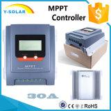 Controlemechanisme Mt3075 van de ZonneMacht van MPPT 30A 12V/24V het Maximum pv-90V
