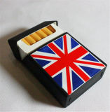 Pas de RubberDekking van het Geval van de Doos van de Sigaret van het Silicone aan