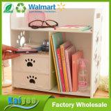 Placa de plástico de madera blanca Home Office organizador de escritorio Organizadores de almacenamiento