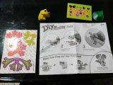 동물 나비와 개구리를 위한 아이 DIY 서류상 장난감
