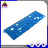 Kundenspezifischer Größen-Schwarz-steifer Drucken-Kennsatz-selbstklebender Papieraufkleber
