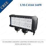 De Beste Kwaliteit Offroad CREE Van vier rijen van de Fabriek van Lmusonu 12 LEIDENE van de Duim 144W Lichte Staaf