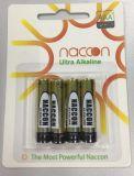 非再充電可能な超AAA 1.5V Lr03はAlklaine電池を乾燥する