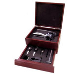 Wine Box With 4 Pcs Accessroies (ZJ011)