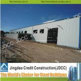 Fácil instalar y los edificios prefabricados de la estructura de acero del bajo costo