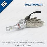 Lmusonuの高い明るさ5s車LEDのヘッドライト9012 LEDのヘッドライトの変換キット4000lm