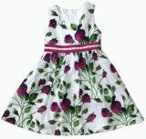 女の子の服の赤ん坊の服のスカート、子供の摩耗(SQD-108)に着せている子供