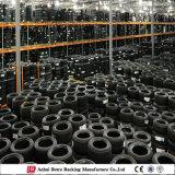 Rack de pneus de motor dobrável em metal