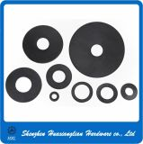 Arandela plana negra plástica de nylon de los sujetadores plásticos (M2-M36)