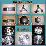 Diversos tipos de lâminas do cortador da escova