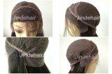 На складе Glueless Virgin человеческого волоса кружева передней Wig (JDH021)