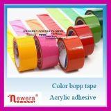 Adhésif de qualité supérieure BOPP du ruban adhésif de couleur