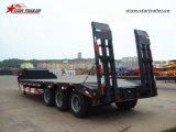De zware Semi Aanhangwagen Lowbed van de Afstand voor Vervoer