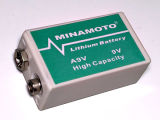 Batterie A9V Ultralife U9VL U9VL-J des Minamoto Lithiums 9V anspornende Energiequelle L522