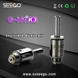 Il più nuovo disegno Seego G-Ha colpito il vaporizzatore normale di vetro della E-Sigaretta dell'atomizzatore dell'olio K3