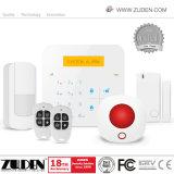 Segurança em Casa WiFi sem fio GSM com Alarme de Intrusão para controle de aplicativos